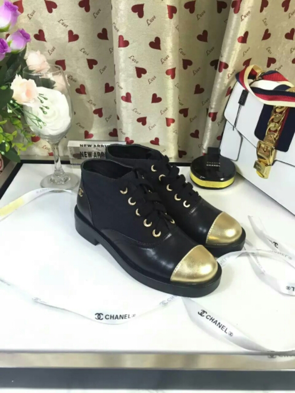 【CHANEL】香奈儿官网2016Ss 意大利专柜同步上新 T台走秀款短靴