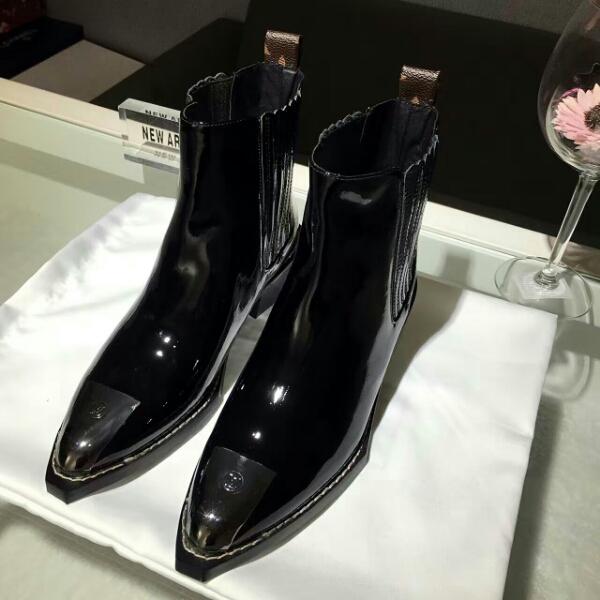 范冰冰同款Louis Vuitton16秋冬新品真皮短靴