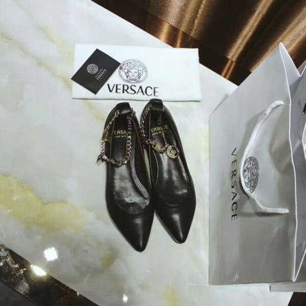 VERSACE 范思哲2016官网新款女鞋全網最美鞋型上腳超贊