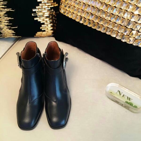Gucci古驰官网2016秋冬时尚矮跟短靴