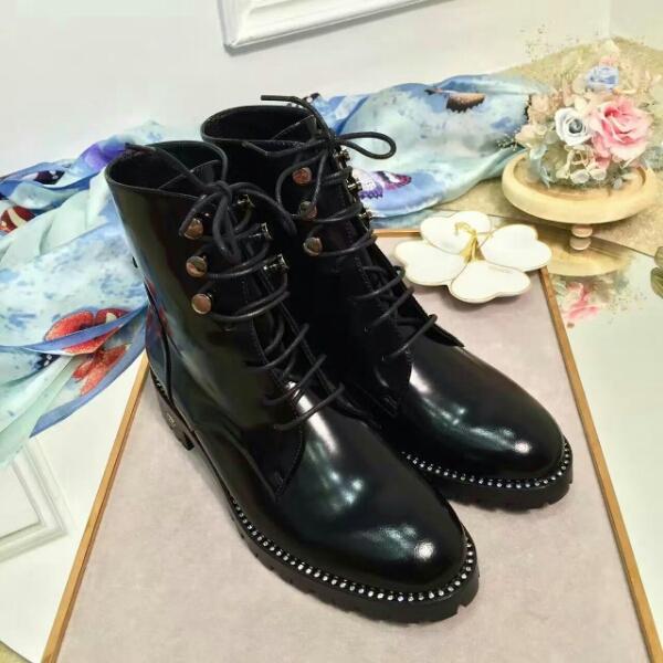 Dior 16秋冬专柜最新款短靴,顶级版本马丁靴