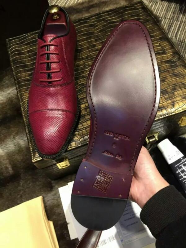 L0UlS VlTT0N2016最新正装男鞋【迪拜 沙漠沙蛇皮】进口外国奢侈沙蛇皮鞋