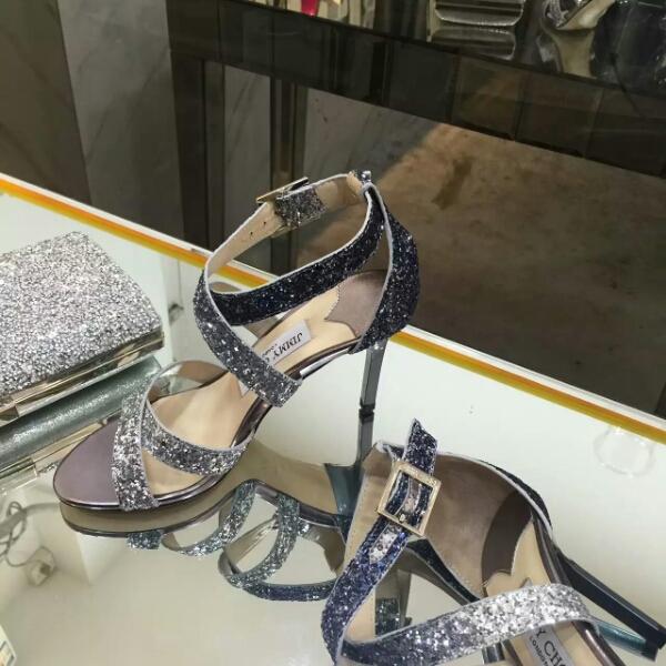 Jimmy Choo专柜同步2016春夏专柜销量发售款高跟凉鞋