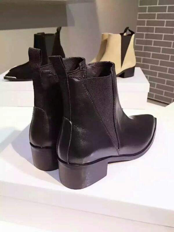 ACNE艾克妮2016春夏新款短靴,火到不要不要的