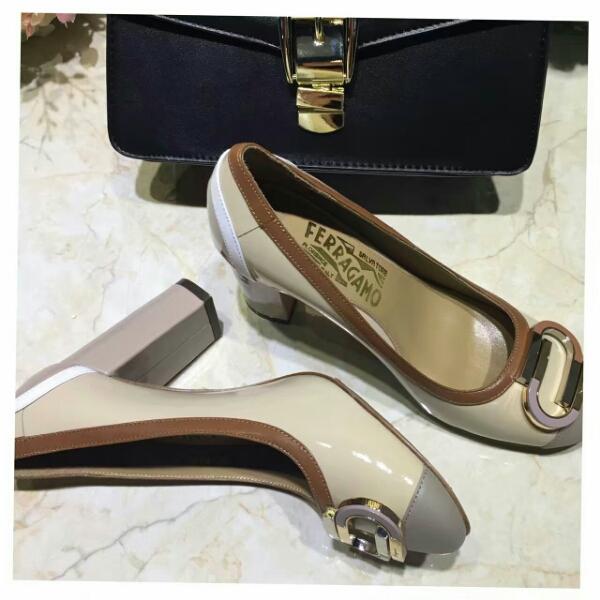 Ferragamo菲拉格慕顶级货 SF2016夏季新款高跟单鞋
