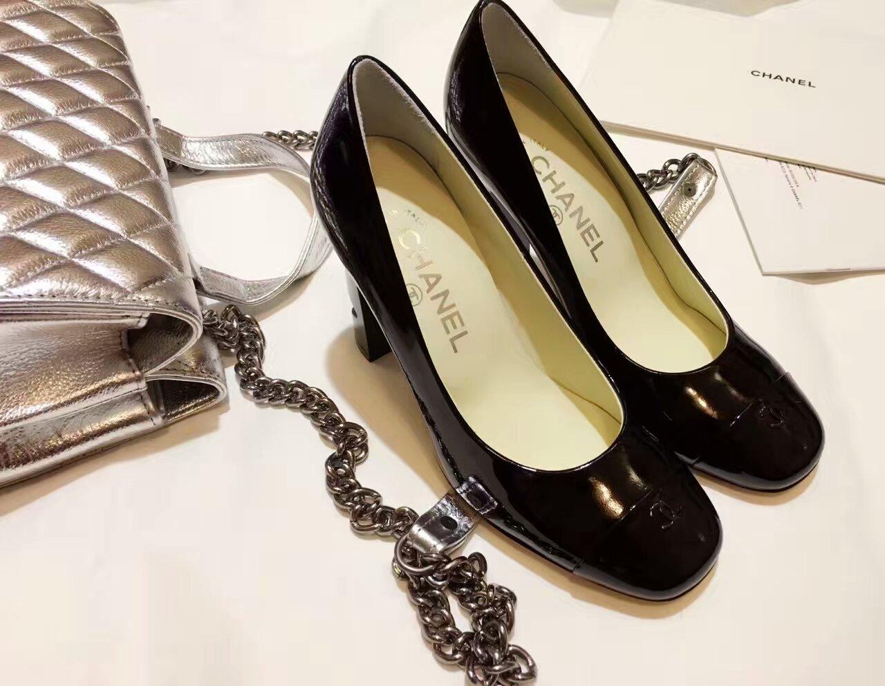 Chanel 16顶级明星限量版高跟单鞋