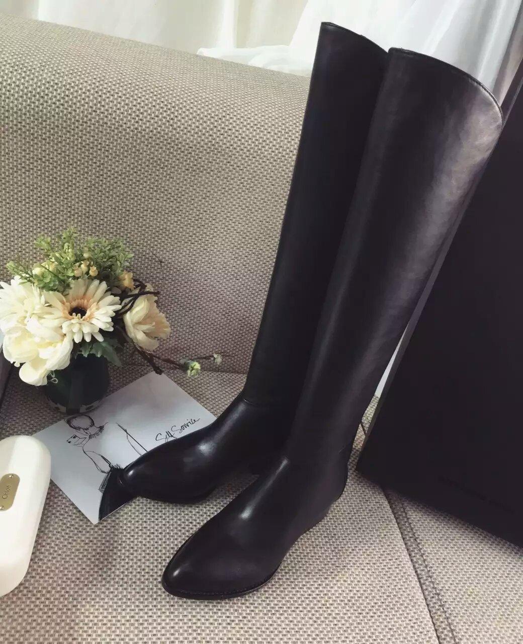 特殊渠道私货【ALEXANDER WANG 】纯原单‼️经典款长靴