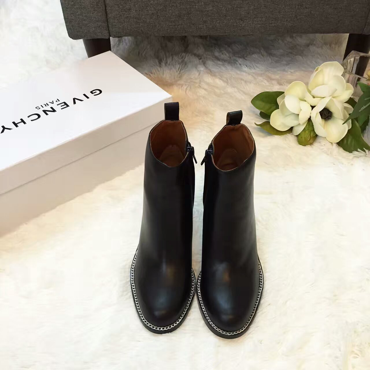 原单正品【GIVENCHY纪梵希】2016FW马丁靴_短靴