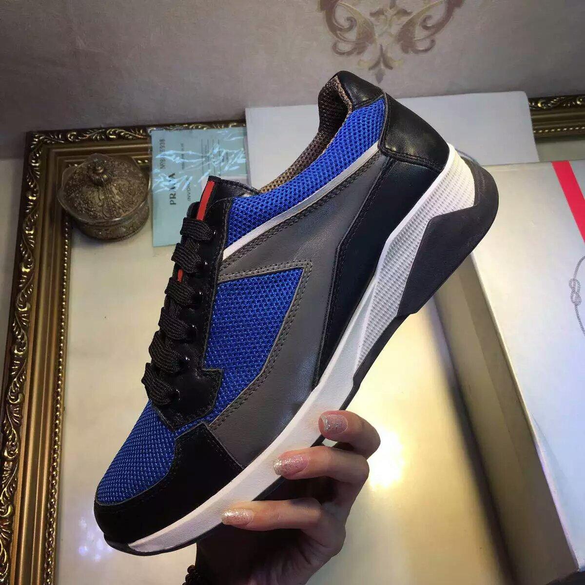 【PRADA】 普拉达专柜新款运动休闲鞋