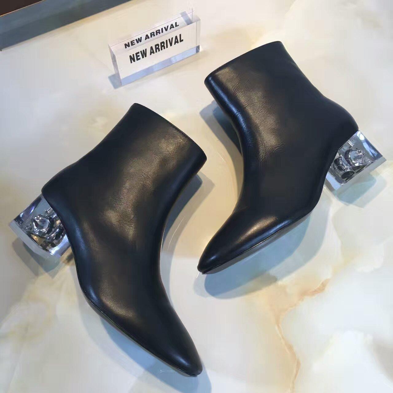 【Alexander McQueen·亚历山大·麦昆】2016ss专柜最新独家款短靴