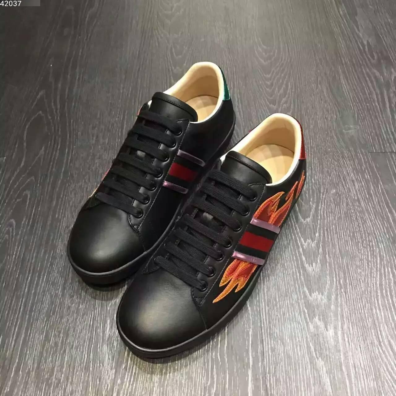 GUCCI 顶级男士休闲鞋2016专柜同步款