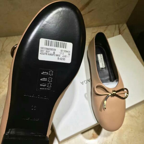 BALENCIAGA巴黎世家2016秋冬新款单鞋_芭蕾舞鞋