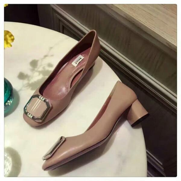 【Bally】巴利2016秋冬新品单鞋‼️本季度最美最耐看一款