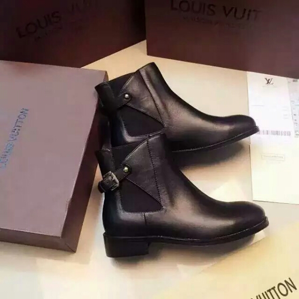 Louis Vuitton LV2016秋冬专柜橱窗推荐款 经典短靴