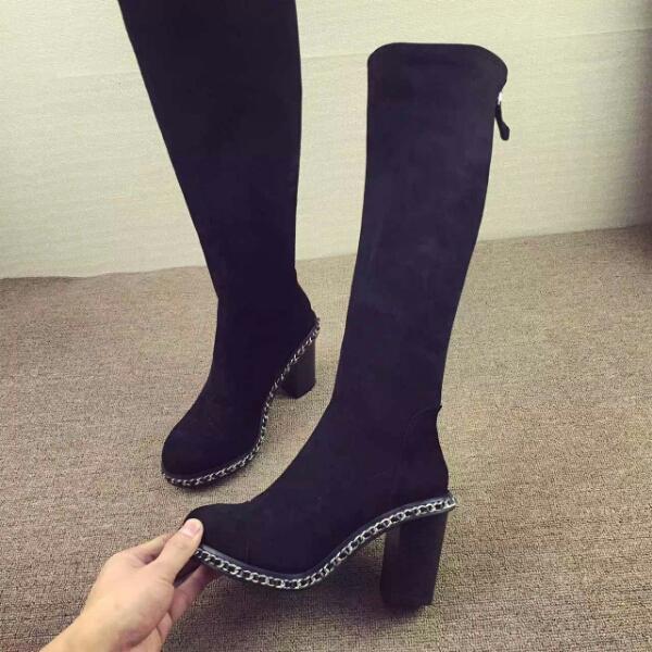 CHANEL高筒长靴16/FW 女王范风靡全球!今冬必备的拉风女靴
