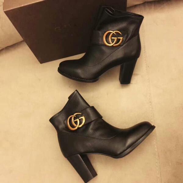 Gucci2016新款短靴!火热出货 原版1:1订制