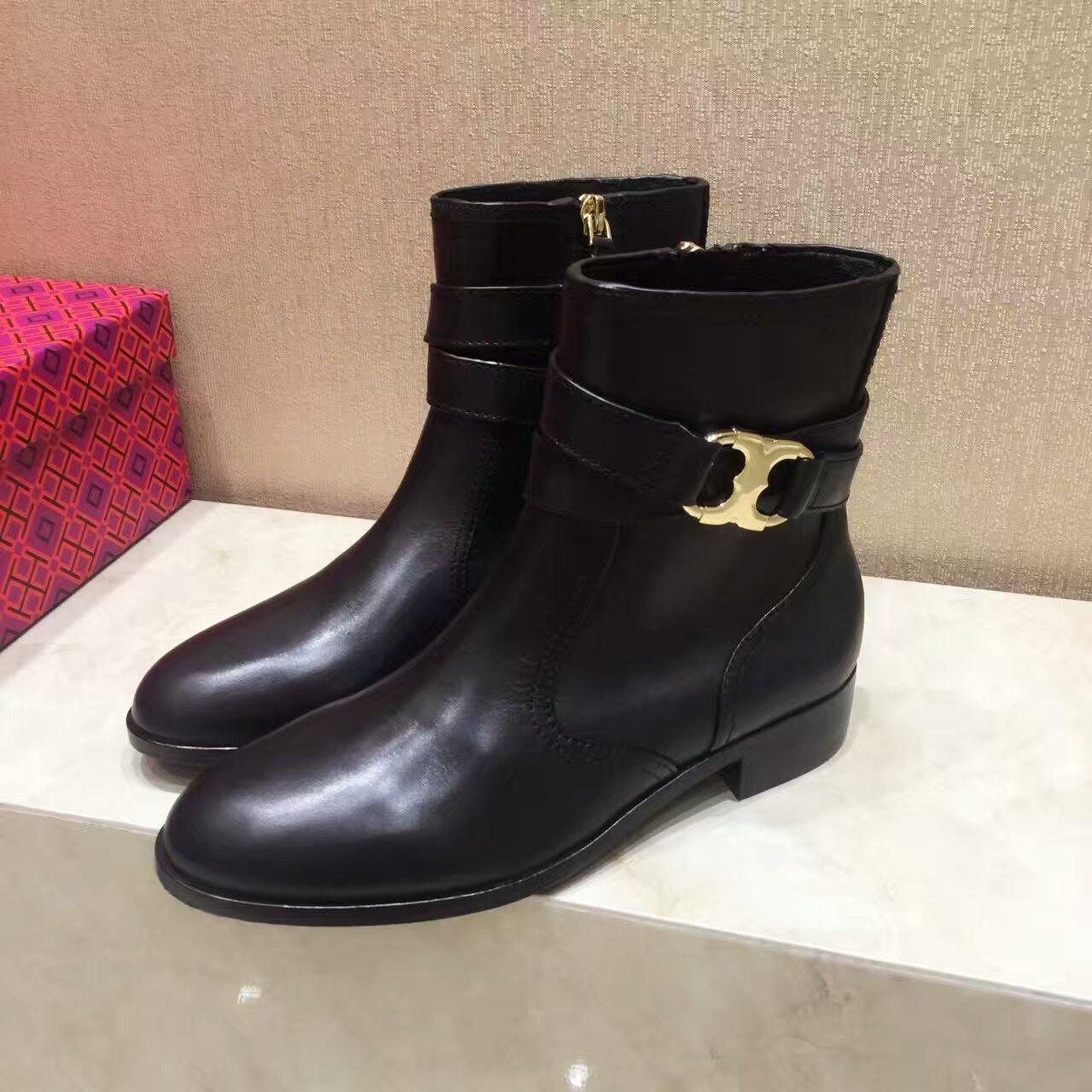 Tory Burch 16ss秋冬短靴,出香港订单原厂原单,支持专柜验货