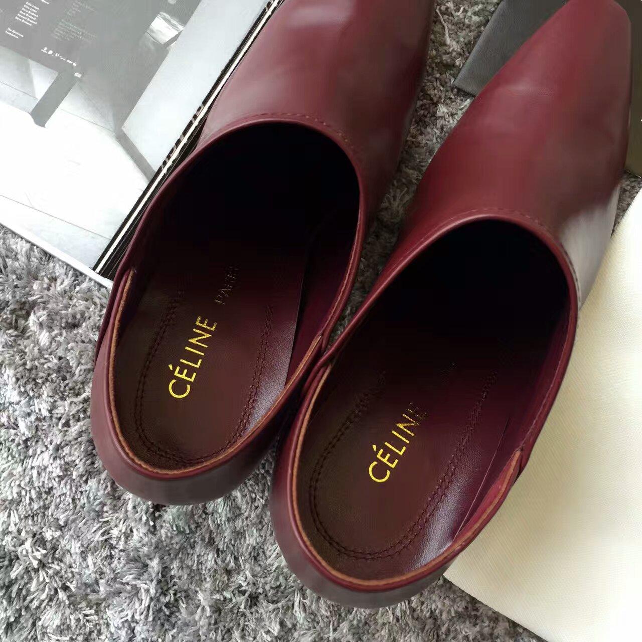 016/CELINE新款踩跟高跟鞋‼️顶级版本原版