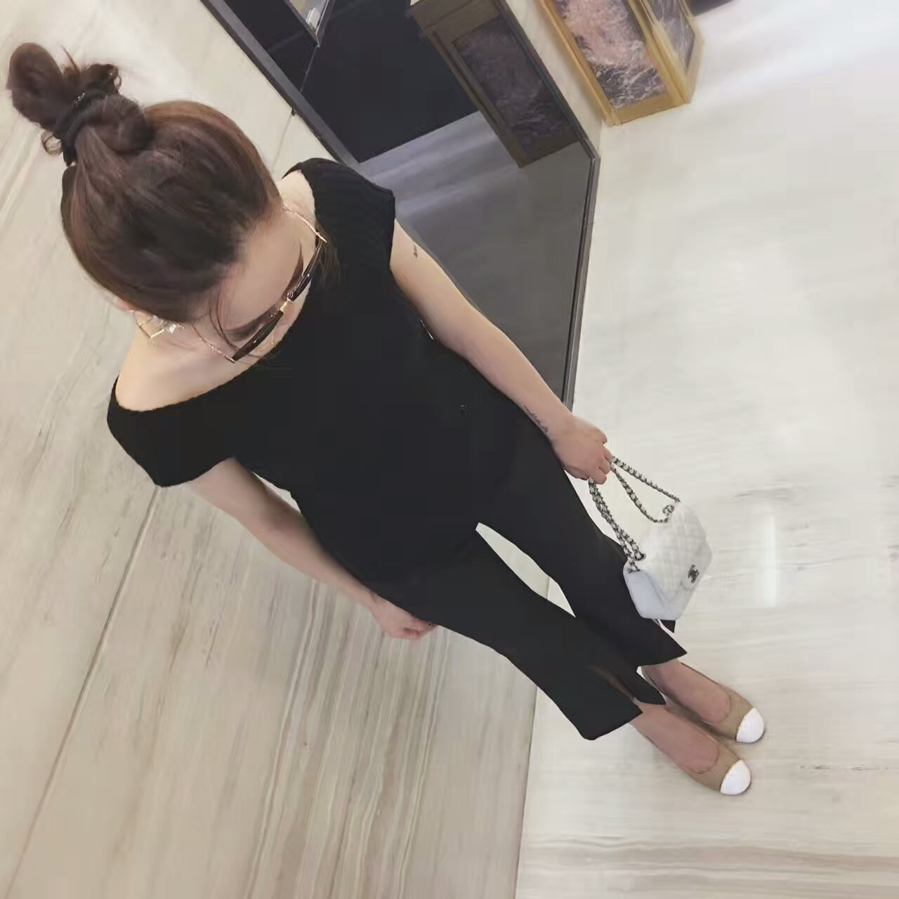 【Chanel】香奈儿2016官网同款高跟单鞋