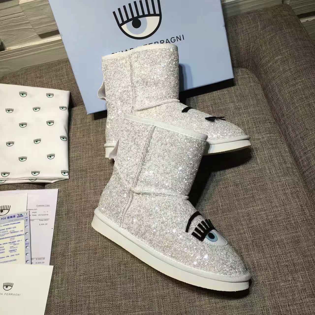 【专柜同步】 CHIARA FERRAGNI 雪地靴 第六弹正式发售!