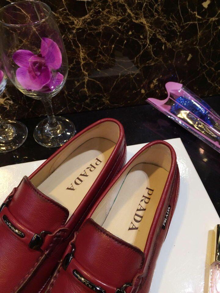PRADA普拉达男鞋 最新原版复刻