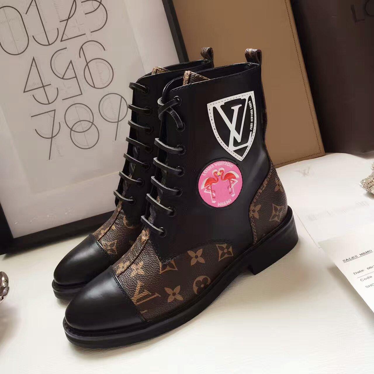 LV专柜新款 路易威登Louis Vuitton短靴市场高端产品质量