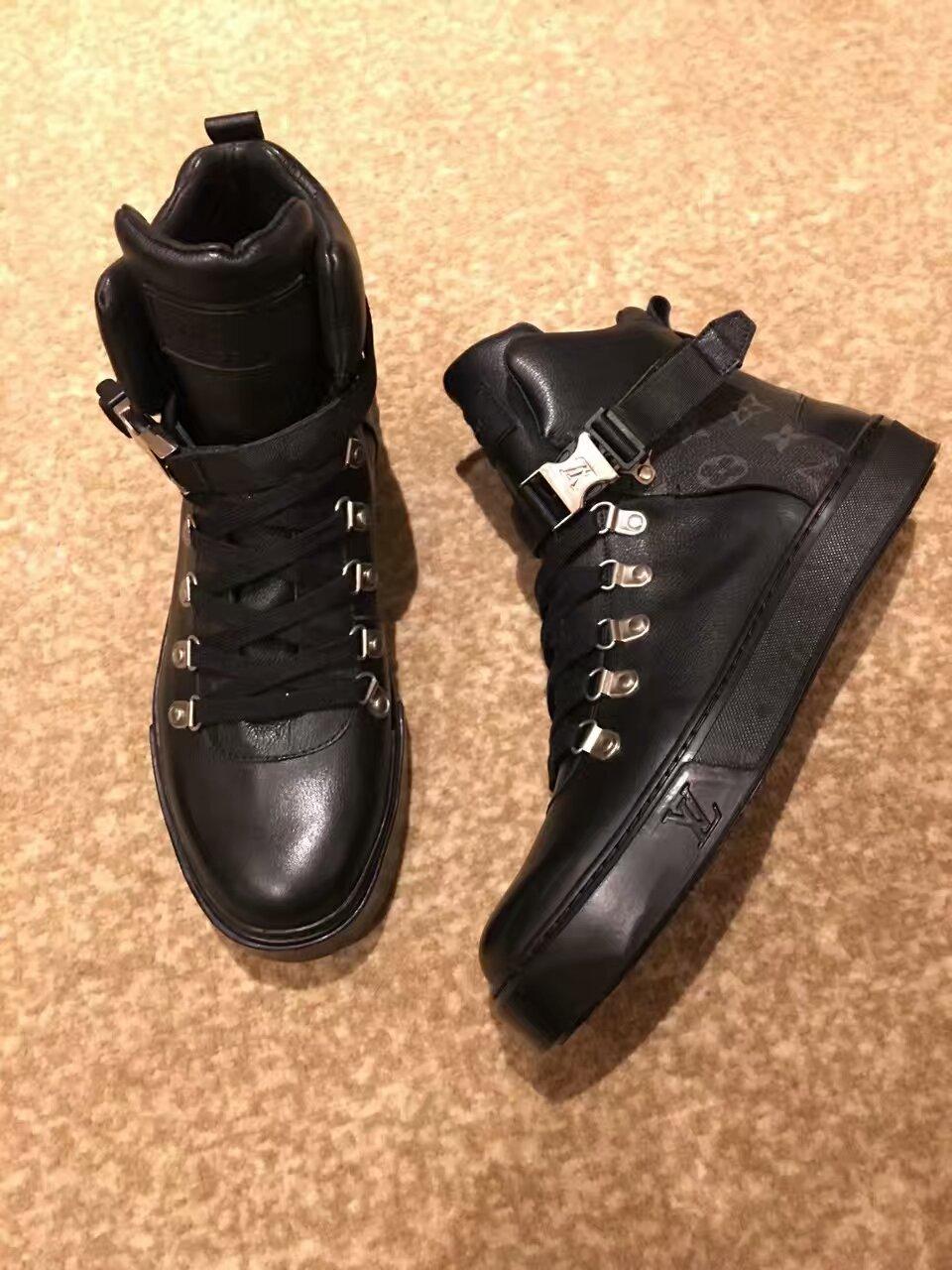 LOUIS VUITTON2016秋冬系列高帮鞋 原版复刻!