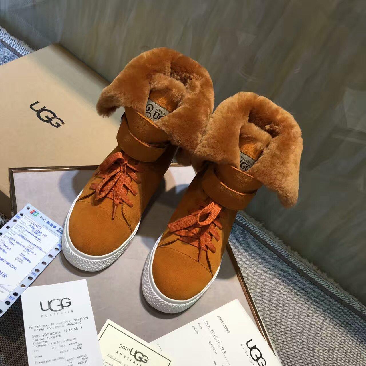 『UGG』2016年冬季新款短靴 此款使经典的舒适感达到最高峰