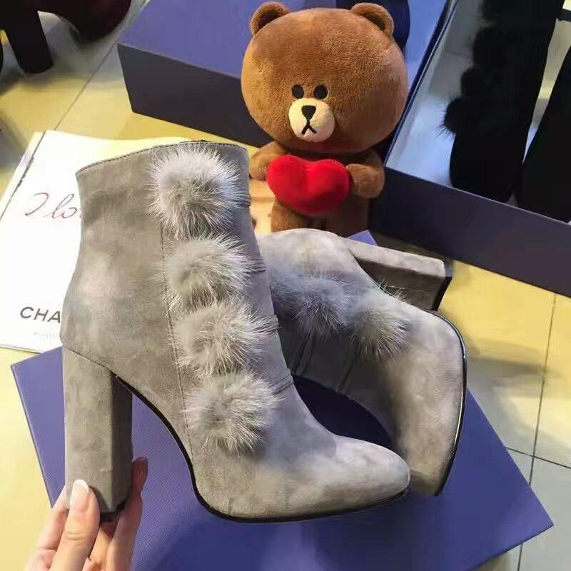 AQUAZZURA2016秋冬新款靴!Aquazzura最经典的高跟收脚短靴