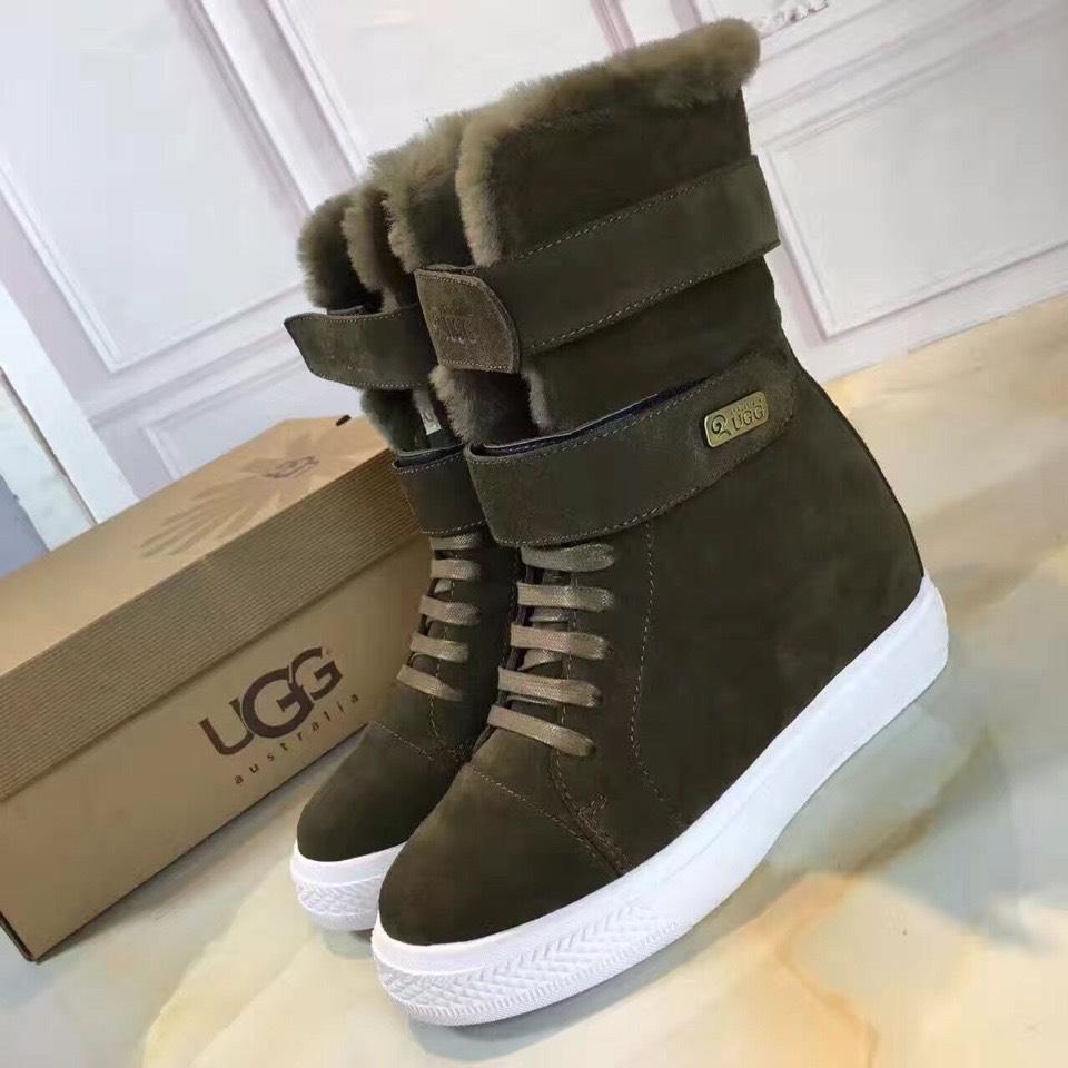 UGG短靴 16fw官网同步发售 质量随便进出专柜对比