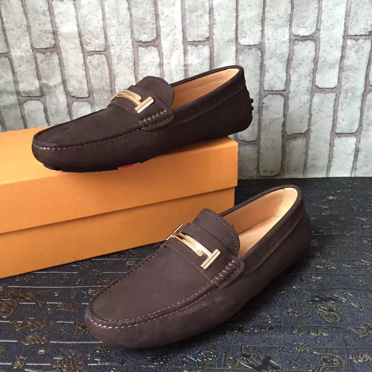 TODS托德斯2017 新款专柜同步上市 高品质 豆豆手工男鞋 开车鞋