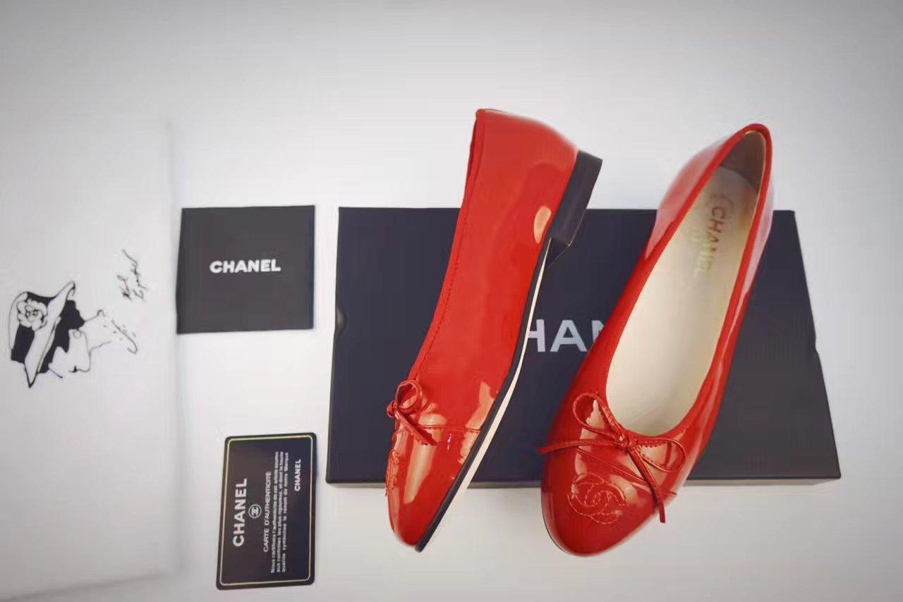 【Chanel 】香奈儿平底鞋 经典款女鞋单鞋