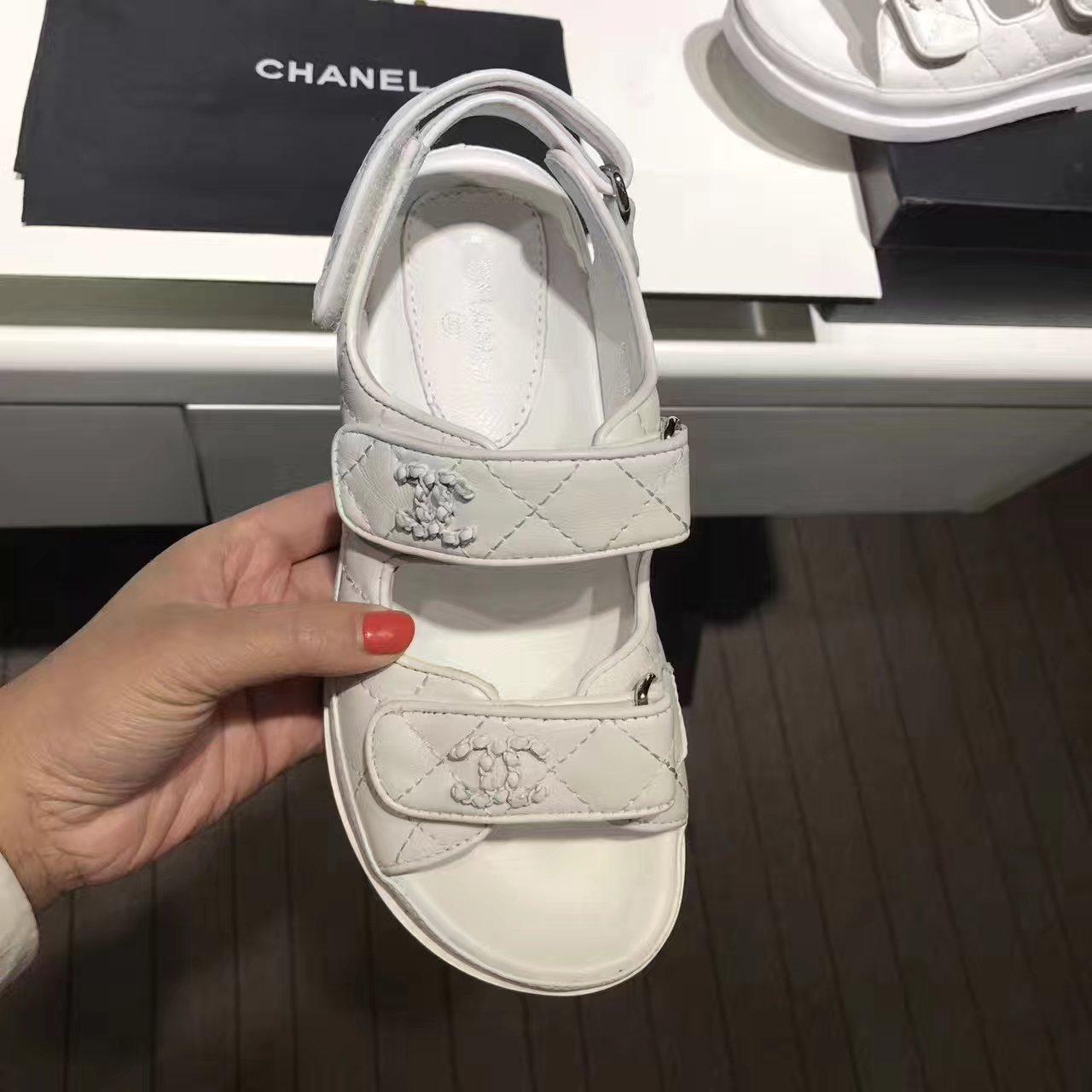 Chanel凉鞋 17春夏走秀系列女款凉鞋!