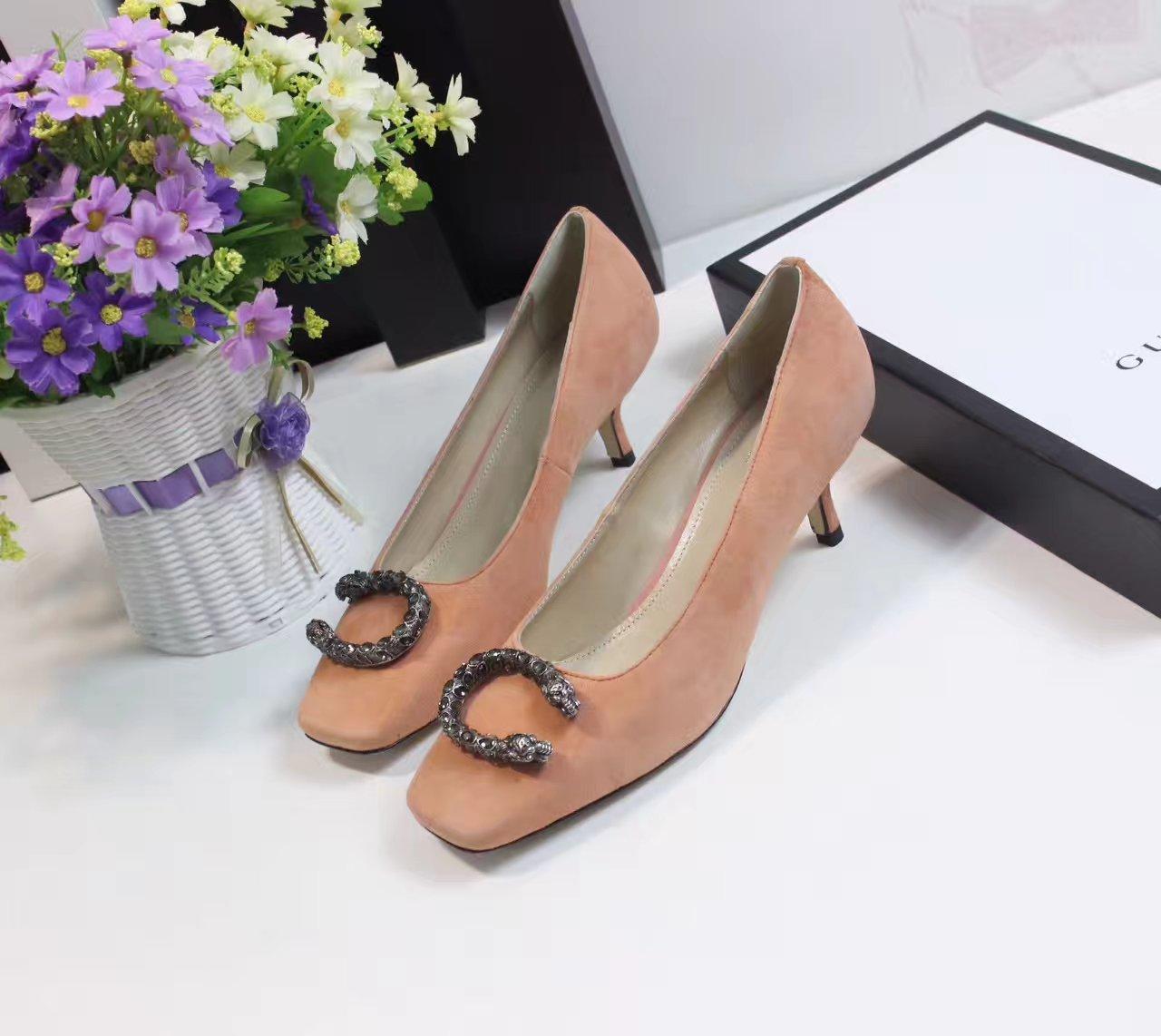 GUCCI女鞋_【古奇单鞋】原单高档鞋子代理一件代发