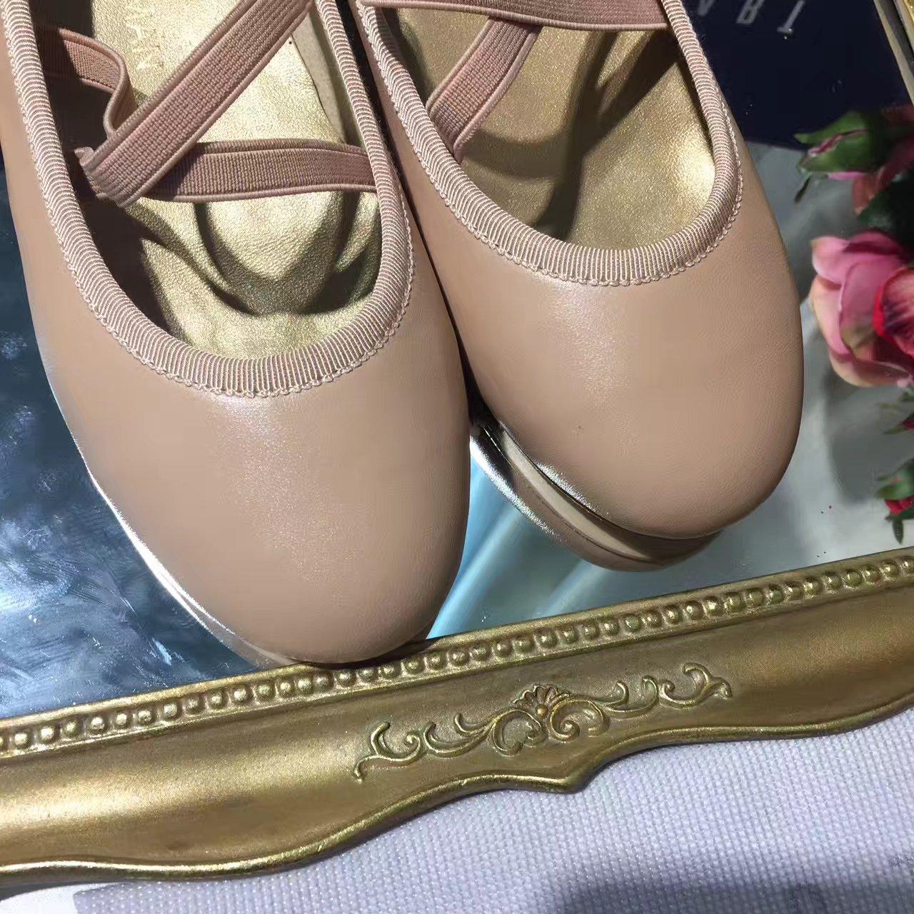 Stuart Weitzman平底单鞋 2017新款芭蕾舞鞋