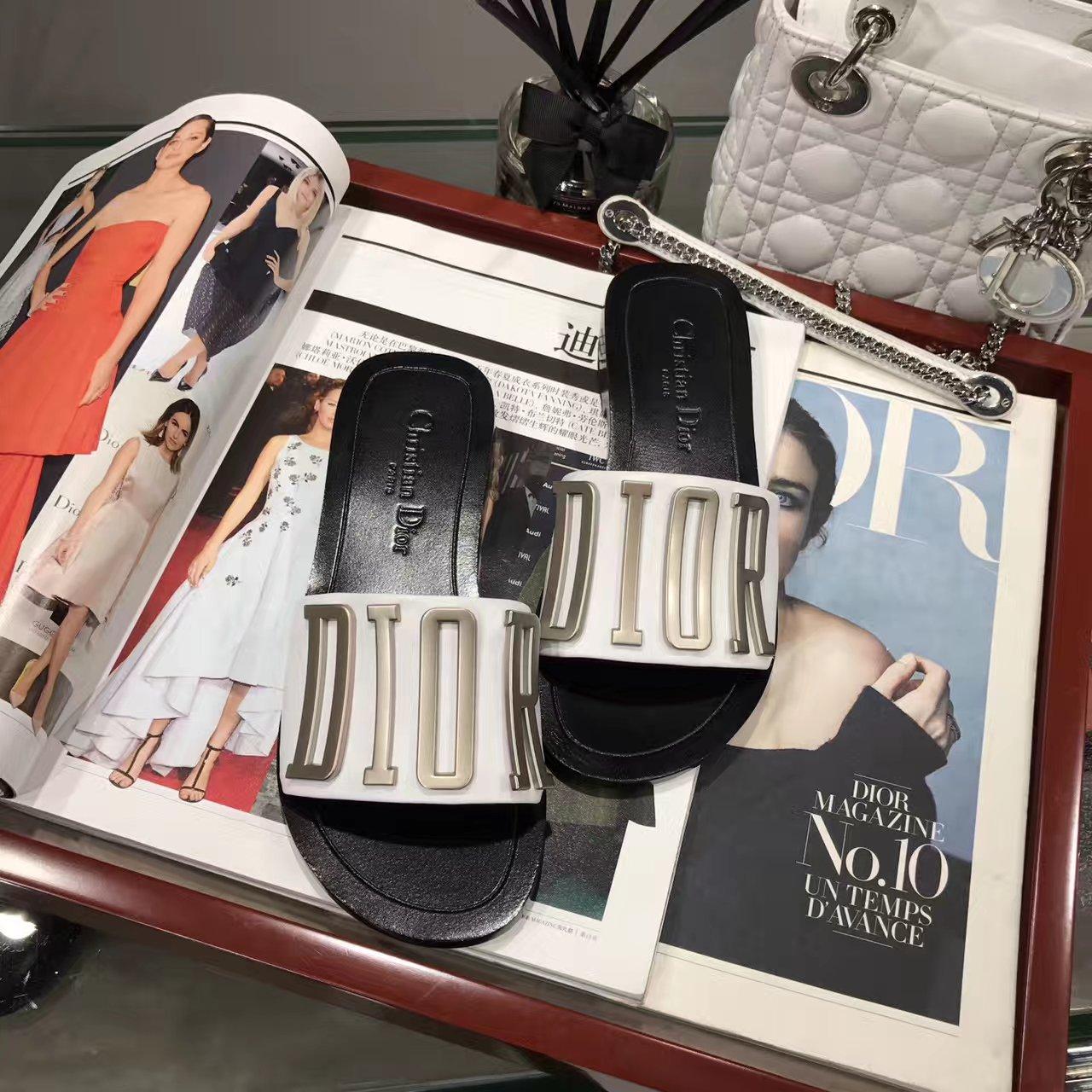 Dior拖鞋_迪奥17春夏新款女士拖鞋