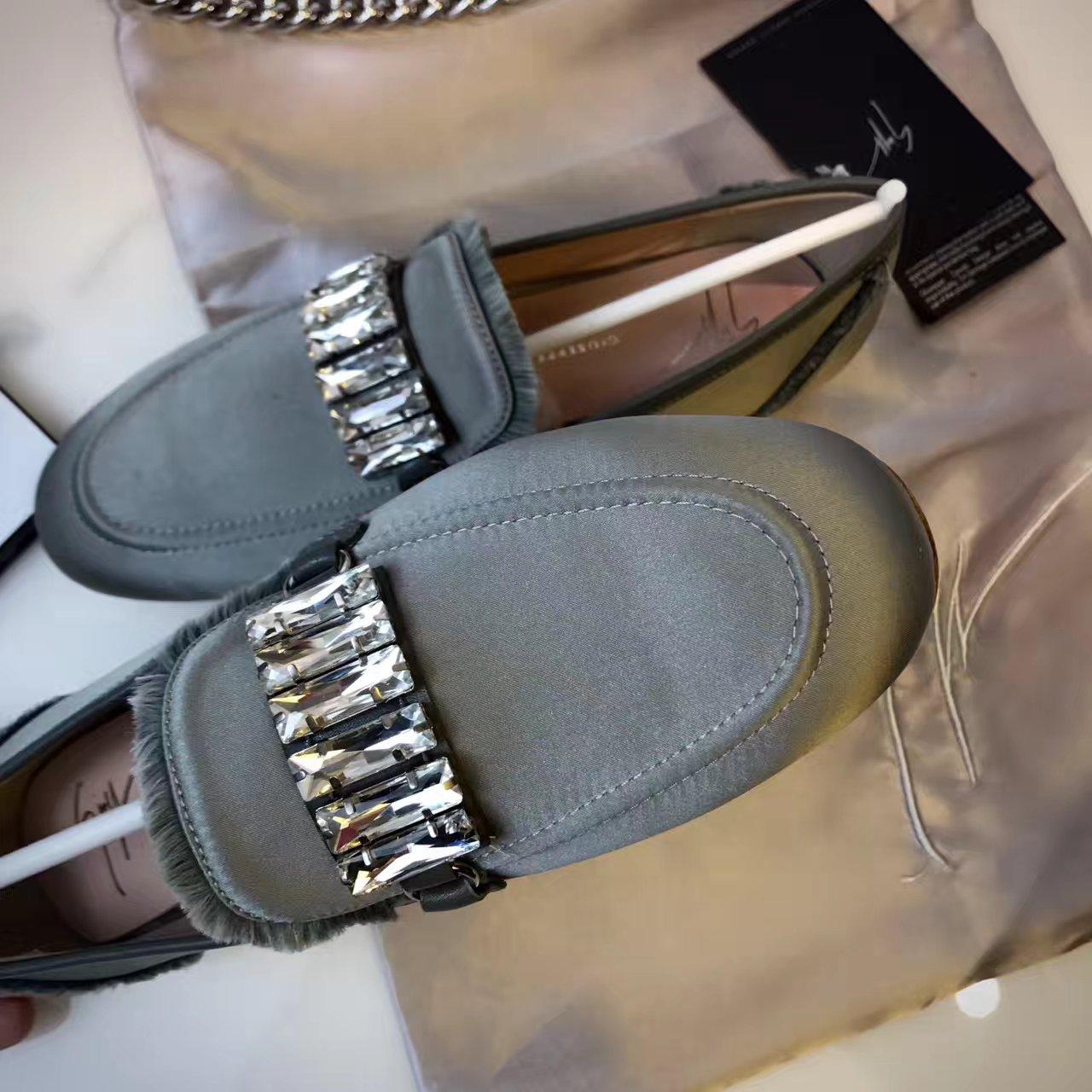【Giuseppe zanotti】GZ女鞋_平底单鞋