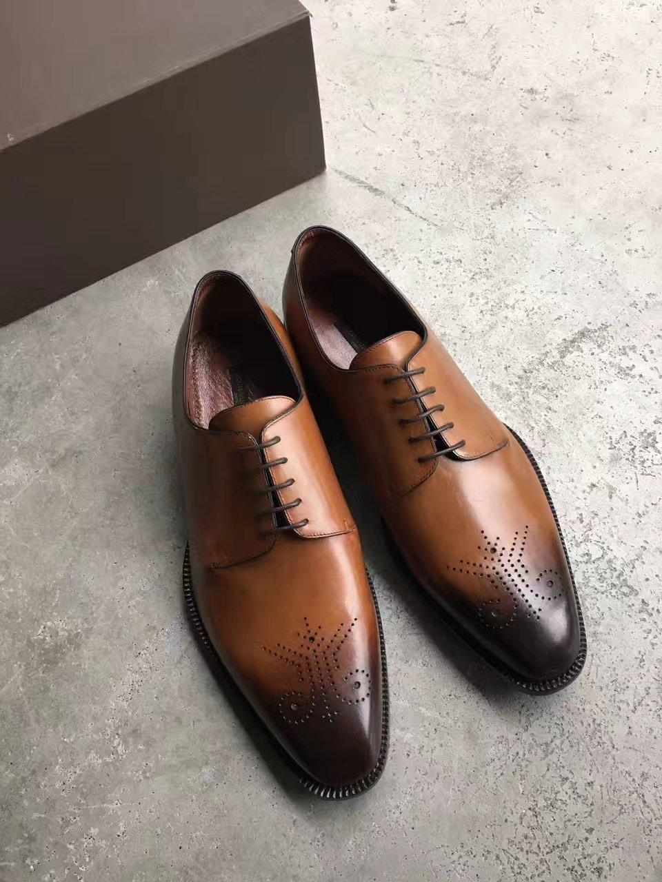 LV正装皮鞋_路易威登男鞋