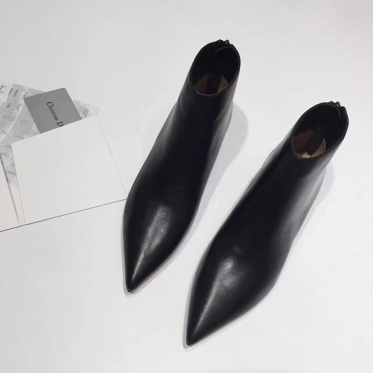 迪奥真皮短靴 2017SS dior秋冬新款短靴