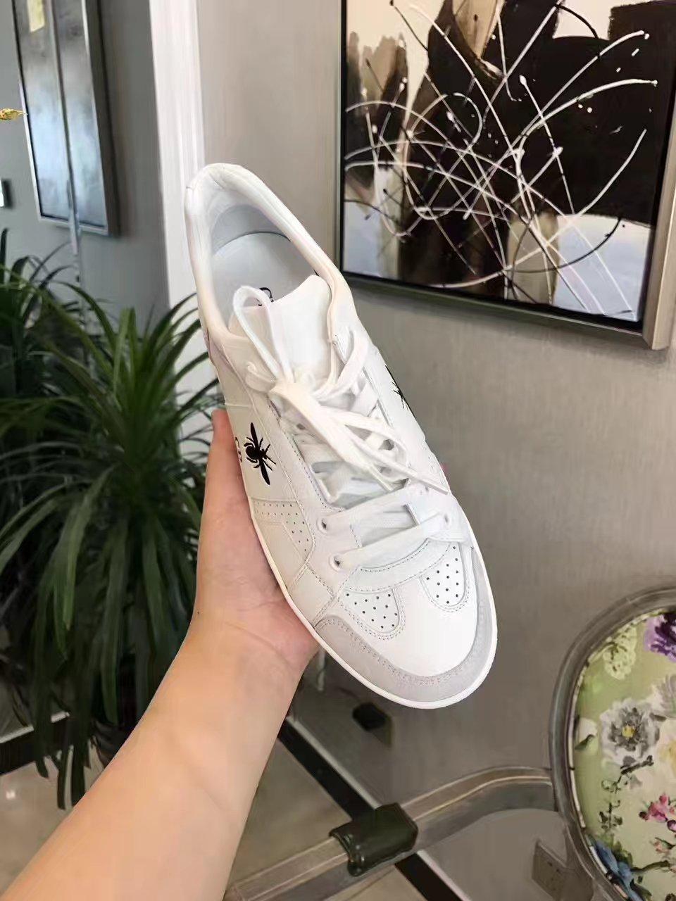 Dior 小白鞋 舒适百搭款女士休闲鞋