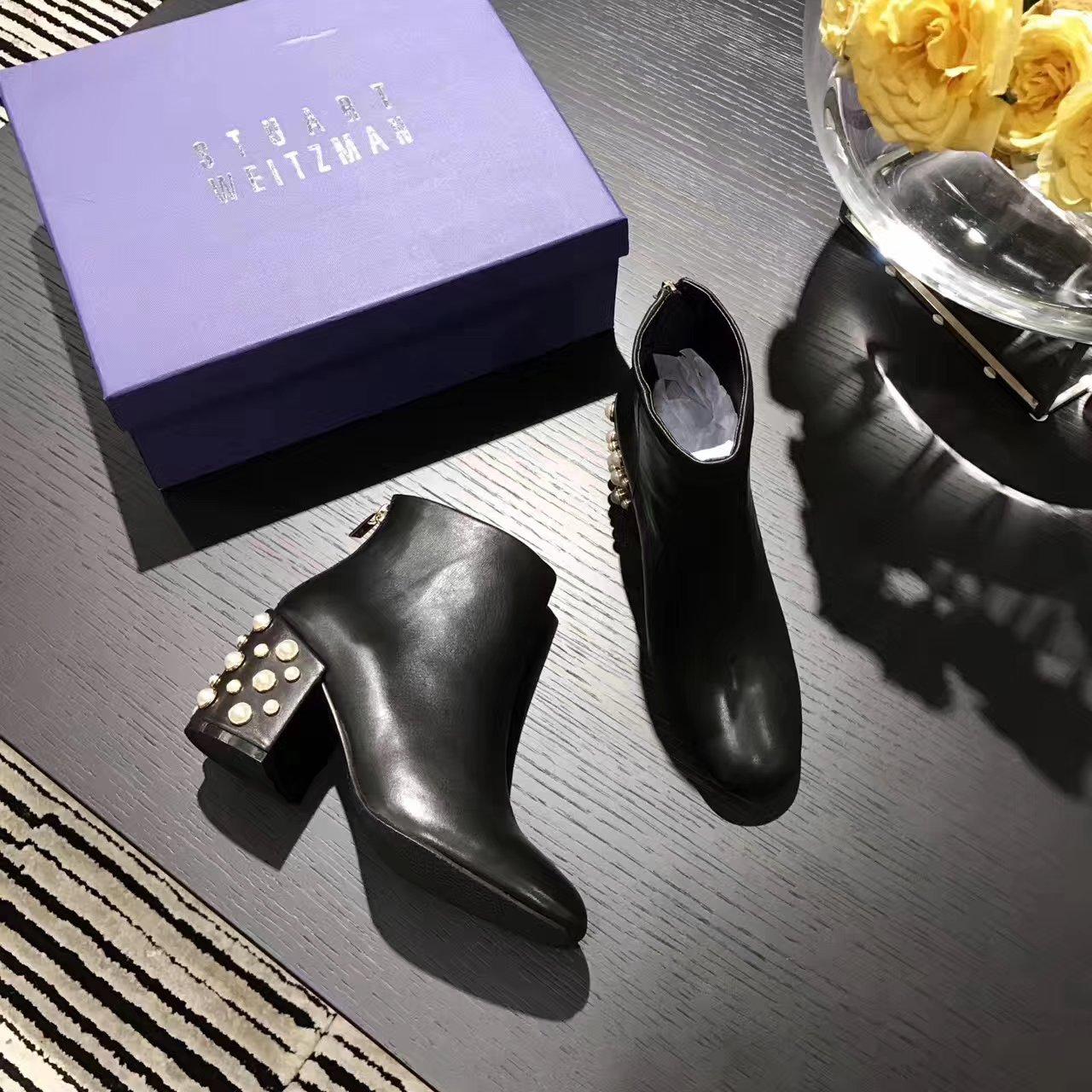 "【Stuart Weitzman】女士靴子SW5050""Bacari""系列短靴"
