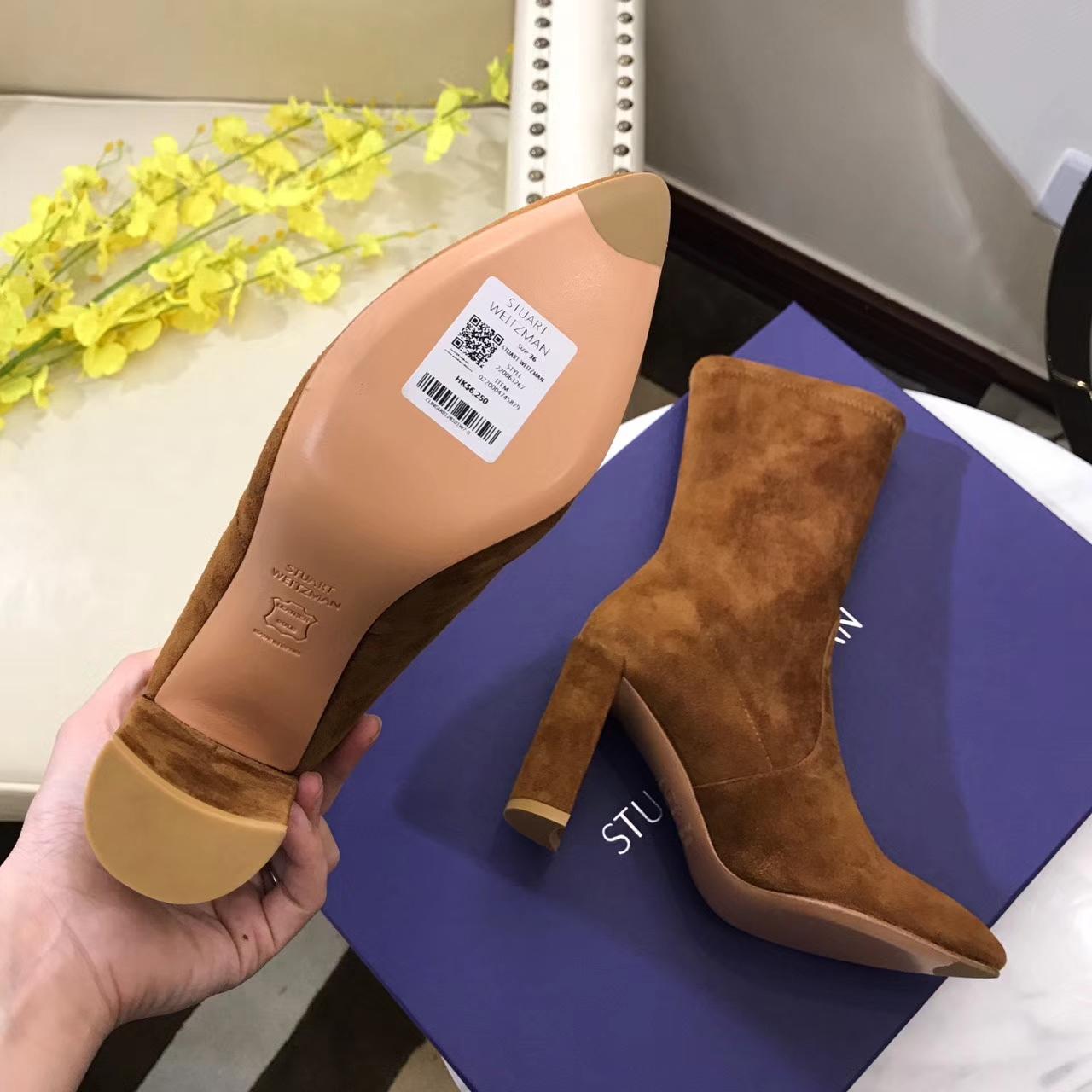 Stuart Weitzman短靴 SW尖头短靴原单代购货源