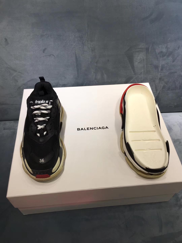 巴黎世家休闲鞋17FW 秋冬 Balenciaga 复古厚底运动鞋