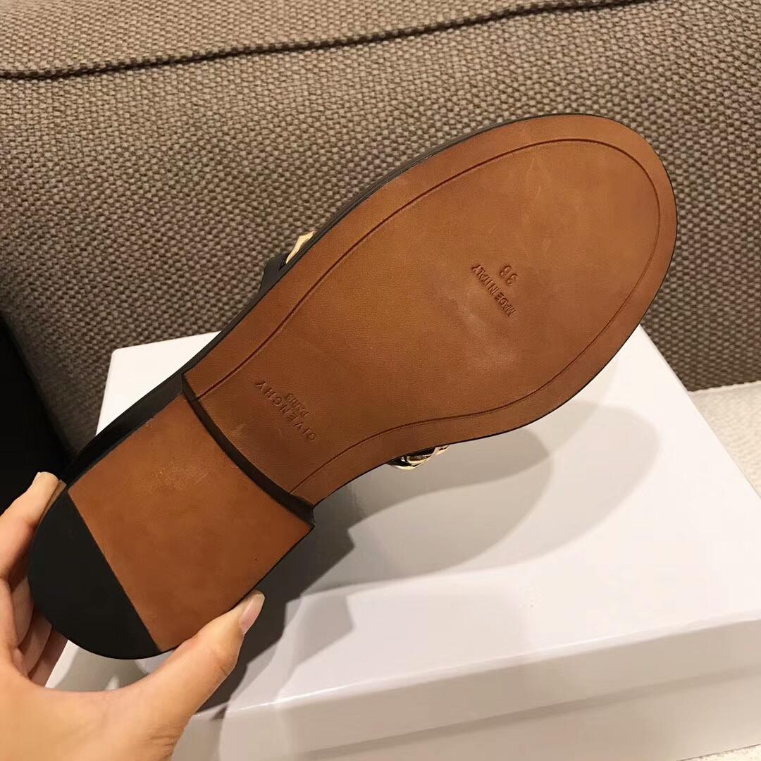 【GIVENCHY女鞋】纪梵希顶级版本超级经典款链条短靴