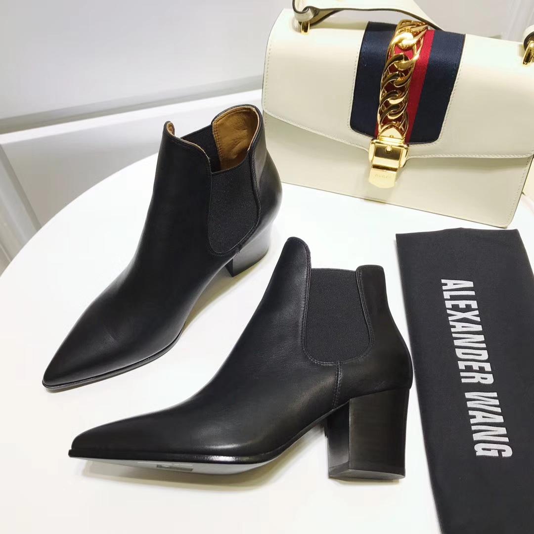 ALEXANDER WANG短靴17ss专柜新品短靴原版开模