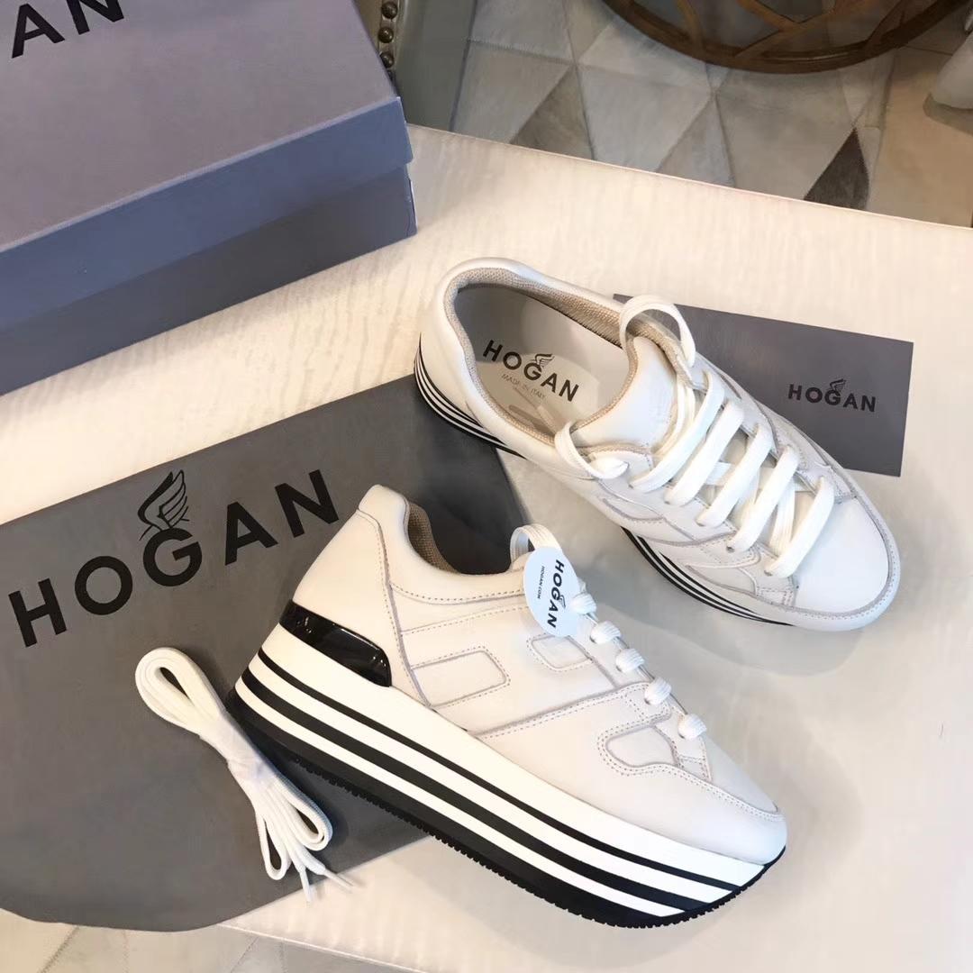 HOGAN休闲鞋_女士厚底运动鞋/顶级版本出货了