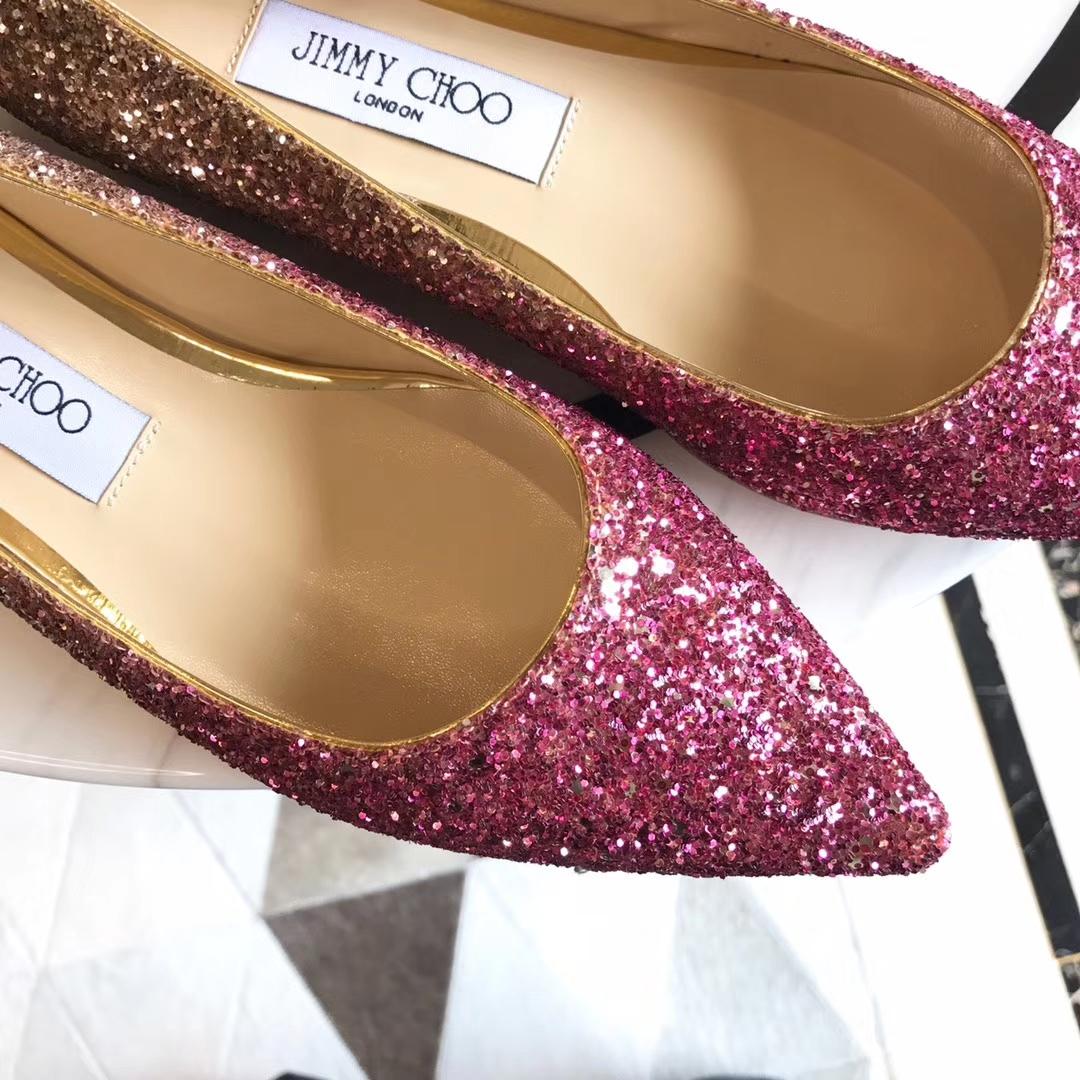 <我的前半生>马伊琍同款单鞋 Jimmy choo高跟鞋 渐变系列