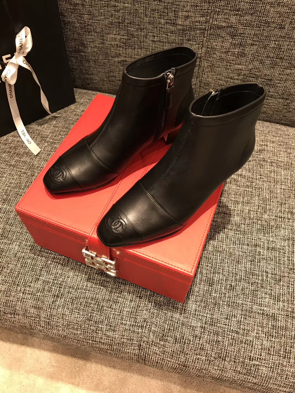 《CHANEL短靴》太古汇HK专柜同步发售