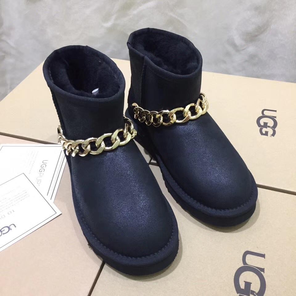 UGG雪地靴 A级羊皮毛一体纯手工制作雪地靴