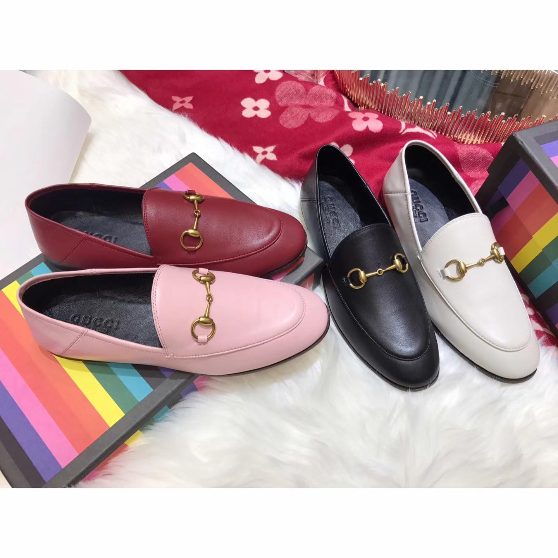 GUCCI平底单鞋 经典乐福鞋正品级